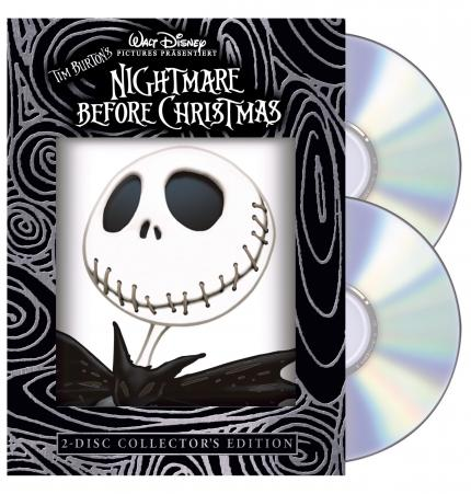 Tim Burtons Nightmare Before Christmas auf DVD...