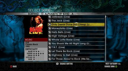 18 neue Songs im AC/DC Live Pack.