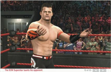 WWE SmackDown vs. Raw 2009: jetzt auch mit Create-a-Superstar-Feature.