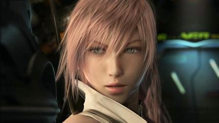 Lightning: blendende Schönheit in Final Fantasy 13.
