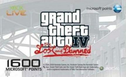 GTA 4 - The Lost and Damned: Limitierte Microsoft-Points-Card angekündigt