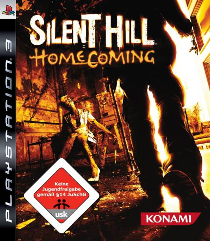 Silent Hill: Homecoming - die PS3-Packung.