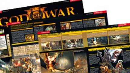 God of War III: Mega-Titelstory in Games Aktuell 04/09