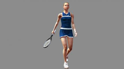 Virtua Tennis 2009:  Maria Sharapova
