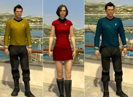 PlayStation Home featuring Star Trek 11