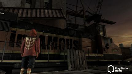 inFamous Raum in PlayStation Home