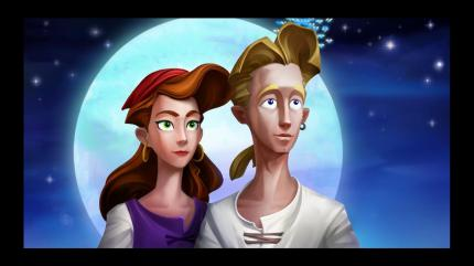 Elaine und Guybrush (Secret of Monkey Island: Special Edition)