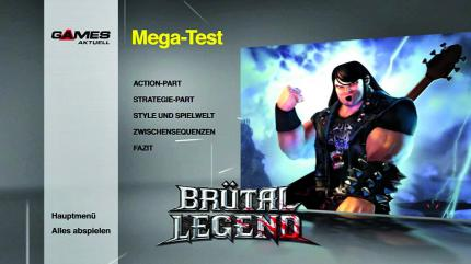 Brütal Legend Mega-Testvideo