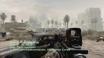 Platz 9: Call of Duty 6: Modern Warfare 2