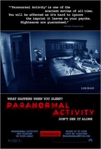 Movie-Review: Paranormal Activities