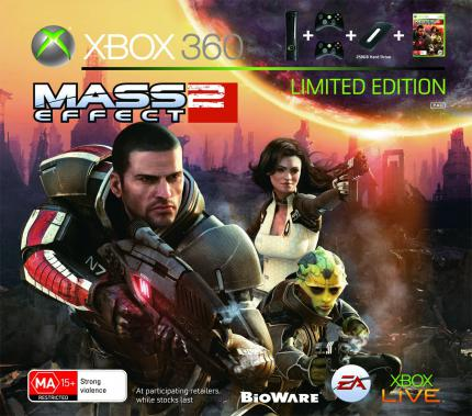 Mass Effect 2: Limited Edition Konsolen-Bundle angekündigt