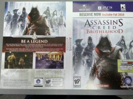Assassin's Creed: Brotherhood Packshot