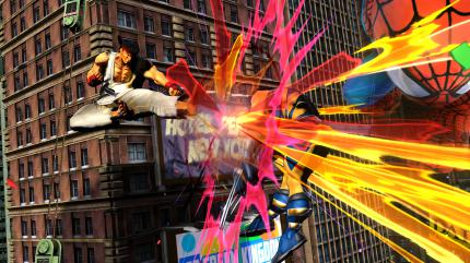 Marvel vs Capcom 3: Fate of Two Worlds im Test - Screenshots aus dem Beat 'em Up. (7)