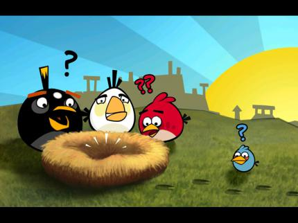 Angry Birds HD: Test des skurrilen iPad-Spiels