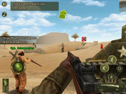 Brothers in Arms 2 - Global Front HD: Zweiter Weltkrieg-Shooter im iPad-Test