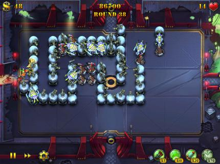 Fieldrunners HD: Test der iPad-Version des iPhone-Klassikers