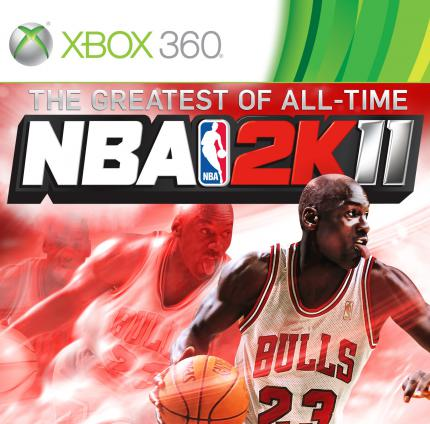 NBA 2K11 - The Greatest of All Time: Michael Jordan ziert das Cover