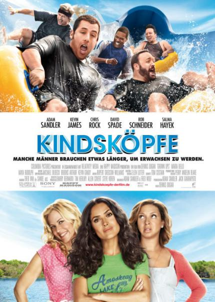 'Kindsköpfe' mit Adam Sandler, Kevin James, Chris Rock, Salma Hayek.