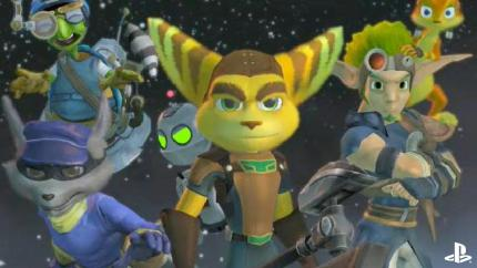 Heroes on the Move: Jak, Daxter, Ratchet, Clank, Sly Cooper und Bentley in einem PS3-Spiel - UPDATE: Neue Infos und gamescom-Trailer zum Move-Titel