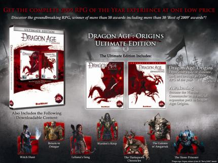Dragon Age: Origins Ultimate Edition kommt am 26. Oktober 2010