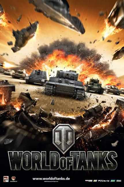 Gratis-Wendeposter: World of Tanks