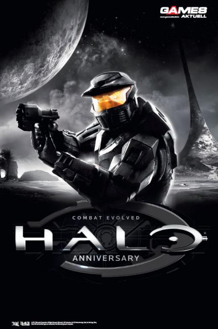 Halo-Poster in Games Aktuell 09/2011