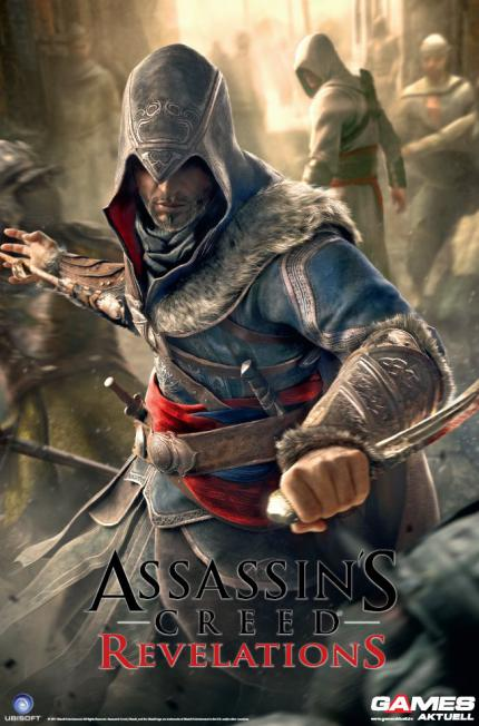 XXL-Poster zu Assassin's Creed: Revelations - als Gratis-Extra in Games Aktuell 12/2011 (ab sofort im Handel)
