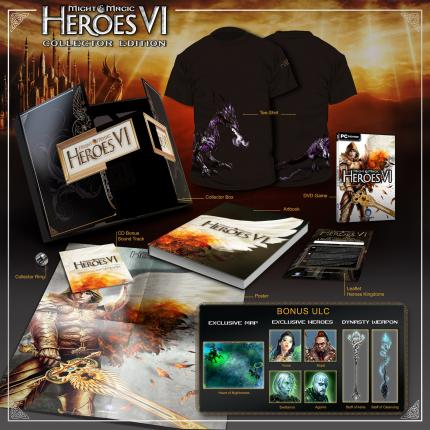 Gewinnt eine Might & Magic Heroes 6 Collector's Edition.