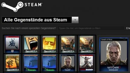 Steam Trading Cards.