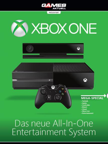 Xbox-One-Wendecover in der Games Aktuell 12/2013