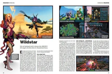 Preview und Titelthema Wildstar in buffed 01-02/2014