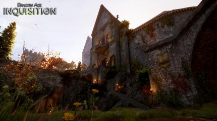 Dragon Age: Inquisition - Skyhold Castle. (8)