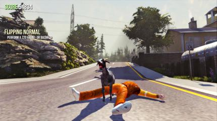 Goat Simulator: Open-World-Action mit Ziege.