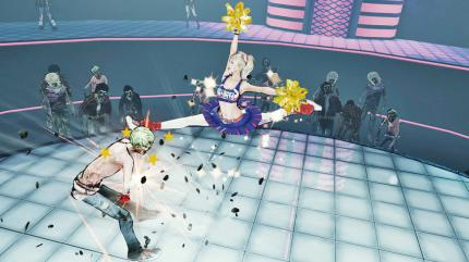 Lollipop Chainsaw: Ein Cheerleader auf Zombie-Jagd.