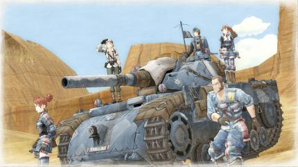 Valkyria Chronicles: Strategie-Rollenspiel im Anime-Style.