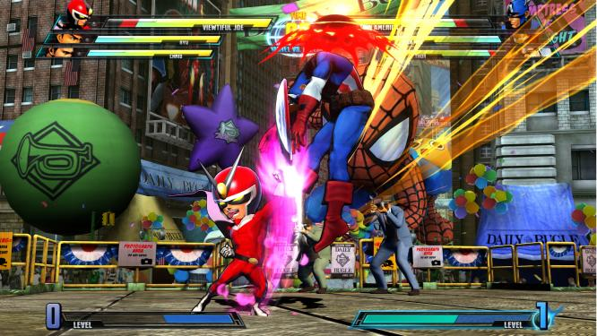 Marvel vs Capcom 3: Fate of Two Worlds im Test - Screenshots aus dem Beat 'em Up. (6)
