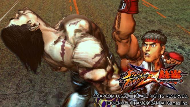 In Street Fighter X Tekken treffen die Kämpfer der beiden bekannten Spieleserien aufeinander.