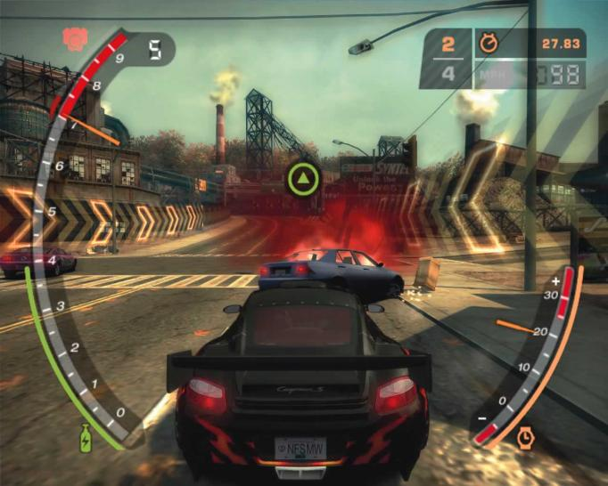 Need for Speed 9: Most Wanted (2005) Source.