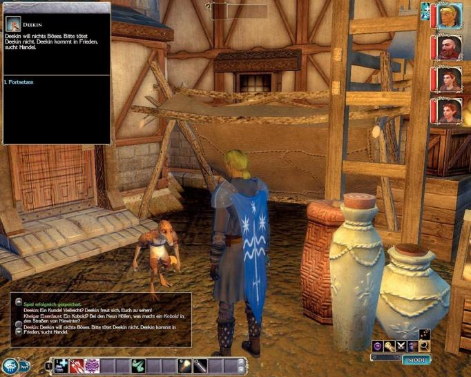 Neverwinter Nights 2: Patch 1.00 auf 1.04.