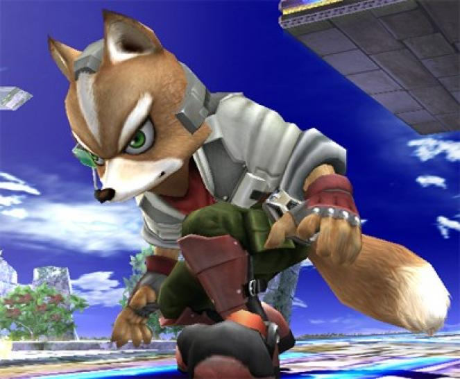 Fox McCloud in Super Smash Bros. Brawl (Nintendo Wii)