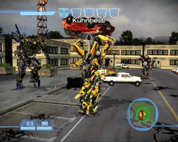 Transformers: The Game - Demo