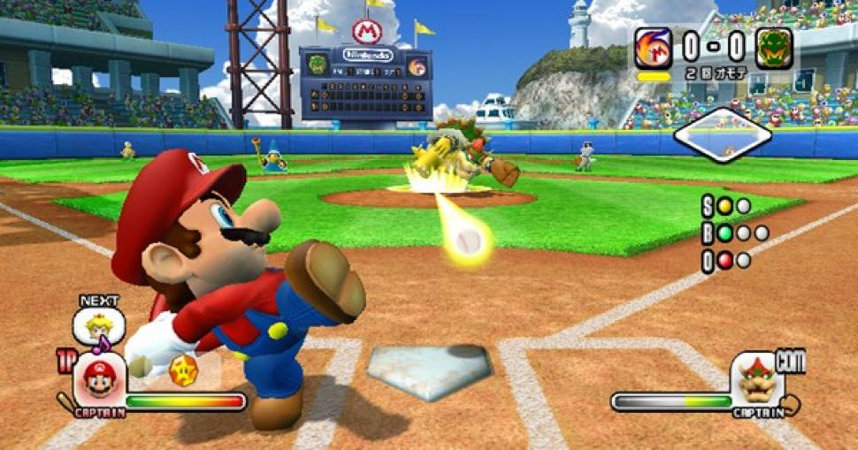 Super Mario Stadium Baseball