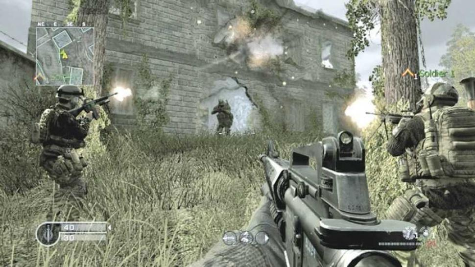 Call of Duty 4 wartet auf den EU-Patch