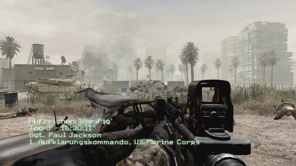 Call of Duty 4: 720p