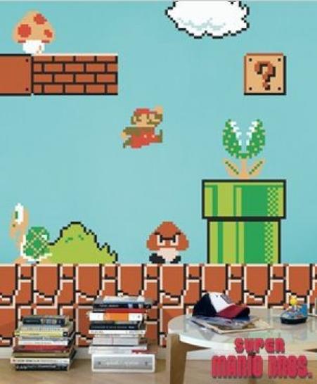 Stunning Super Mario Tapete Contemporary - Erstaunliche Ideen ...