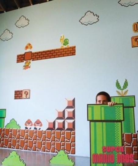 Kurios: Tapeziert euch die Wände im Super-Mario-Look - Gamesaktuell ...