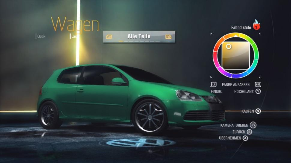 Need for Speed: Undercover - Tuning