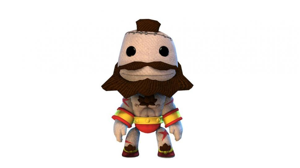 Zangief in Little Big Planet