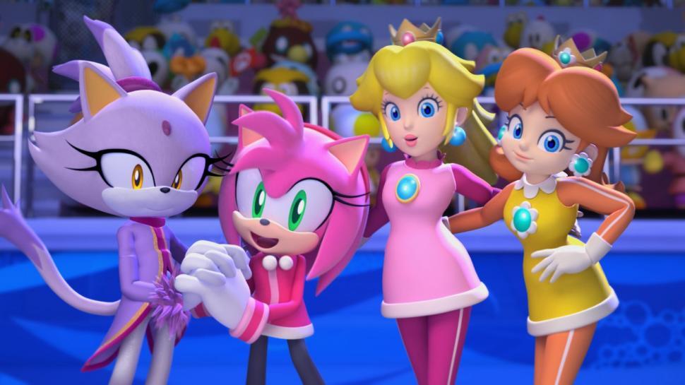 Wii Blaue Konsole Im Bundle Mit Mario Und Sonic Angekündigt