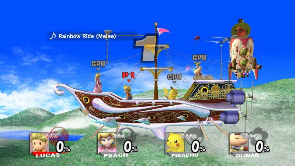 Screenshots aus Super Smash Bros. Brawl für Wii (1)